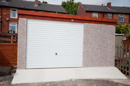 Repairs Dencroft Concrete Garages Yorkshire The North Of England