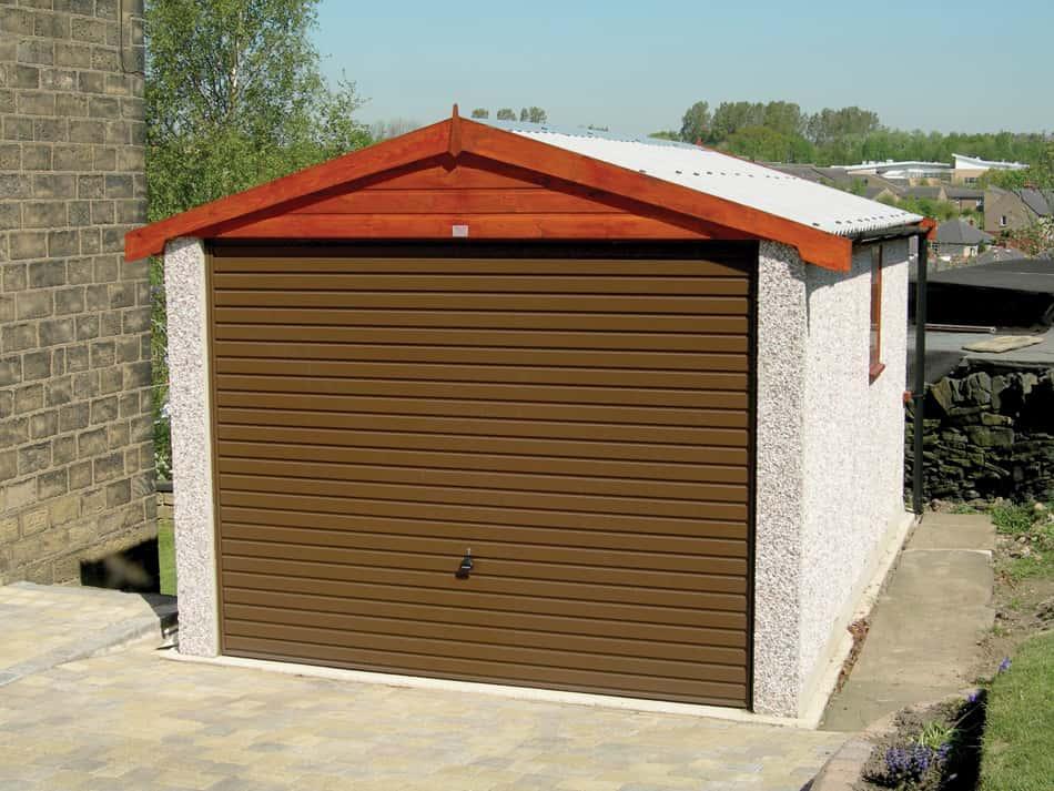 Dencroft Garage - Apex Roof Garages